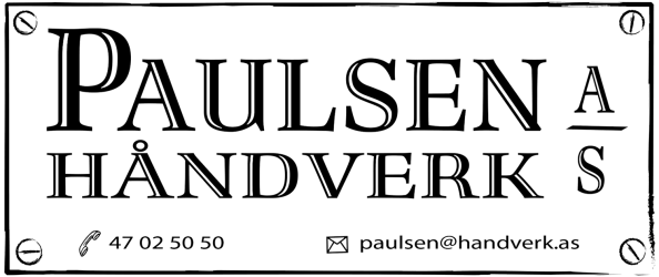 Paulsen Håndverk
